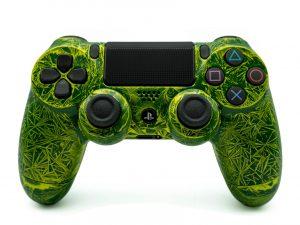 Playstation Controller grün